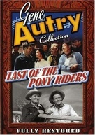 Last of the Pony Riders - DVD cover (xs thumbnail)