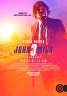 John Wick: Chapter 3 - Parabellum - Hungarian Movie Poster (xs thumbnail)