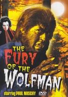 La furia del Hombre Lobo - DVD cover (xs thumbnail)