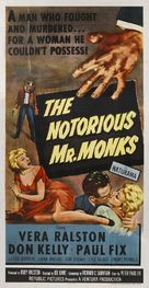 The Notorious Mr. Monks - Movie Poster (xs thumbnail)