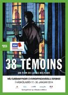 38 témoins - Icelandic Movie Poster (xs thumbnail)