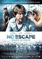 No Escape - Italian Movie Poster (xs thumbnail)