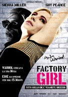 Factory Girl - Italian Movie Poster (xs thumbnail)