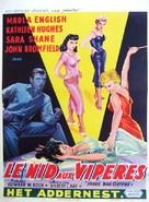 Three Bad Sisters - Belgian Movie Poster (xs thumbnail)