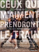 Ceux qui m'aiment prendront le train - French Movie Poster (xs thumbnail)