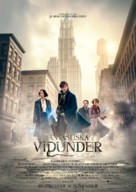 Fantastic Beasts and Where to Find Them - Swedish Movie Poster (xs thumbnail)