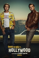 Once Upon a Time in Hollywood - Spanish Movie Poster (xs thumbnail)