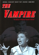 The Vampire - DVD cover (xs thumbnail)