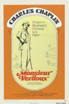 Monsieur Verdoux - Re-release movie poster (xs thumbnail)