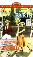 An American in Paris - Australian VHS movie cover (xs thumbnail)