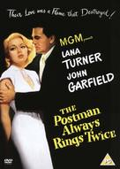 The Postman Always Rings Twice - British DVD movie cover (xs thumbnail)