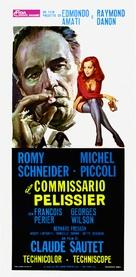Max et les ferrailleurs - Italian Movie Poster (xs thumbnail)