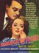 Dark Victory - Spanish Movie Poster (xs thumbnail)