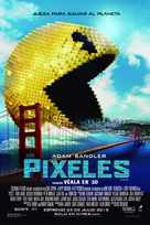 Pixels - Argentinian Movie Poster (xs thumbnail)