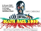 Death Race 2000 - British Movie Poster (xs thumbnail)