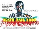 Death Race 2000 - British Movie Poster (xs thumbnail)