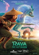 Raya and the Last Dragon - British Movie Poster (xs thumbnail)