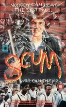 Scum - British VHS cover (xs thumbnail)