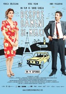 Despre oameni si melci - Romanian Movie Poster (xs thumbnail)