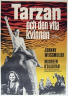 Tarzan and His Mate - Swedish Movie Poster (xs thumbnail)