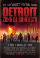Detroit - Argentinian Movie Poster (xs thumbnail)