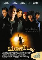 Light It Up - German poster (xs thumbnail)