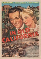 In Old California - Movie Poster (xs thumbnail)
