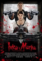 Hansel & Gretel: Witch Hunters - Croatian Movie Poster (xs thumbnail)