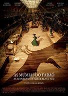 Les aventures extraordinaires d'Adèle Blanc-Sec - Portuguese Movie Poster (xs thumbnail)