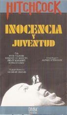 Young and Innocent - Spanish VHS movie cover (xs thumbnail)