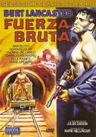 Brute Force - Spanish DVD cover (xs thumbnail)