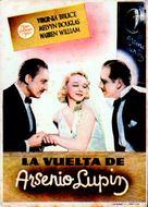 Arsène Lupin Returns - Spanish Movie Poster (xs thumbnail)