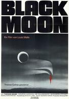Black Moon - German Movie Poster (xs thumbnail)