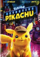 Pokémon: Detective Pikachu - DVD movie cover (xs thumbnail)