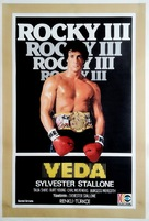 Rocky III - Turkish Movie Poster (xs thumbnail)