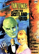 Fantômas contre Scotland Yard - Spanish Movie Poster (xs thumbnail)