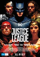 Justice League - Australian Movie Poster (xs thumbnail)
