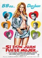Don Juan ou Si Don Juan était une femme... - Spanish Movie Poster (xs thumbnail)