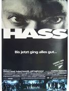 La haine - German Movie Poster (xs thumbnail)