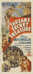 Tarzan's Secret Treasure - Australian Movie Poster (xs thumbnail)