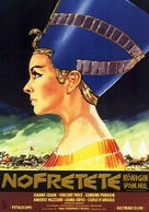 Nefertiti, regina del Nilo - German Movie Poster (xs thumbnail)