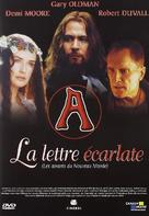 The Scarlet Letter - French DVD cover (xs thumbnail)