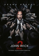 John Wick: Chapter Two - Finnish Movie Poster (xs thumbnail)