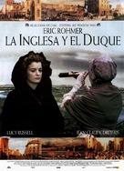 Anglaise et le duc, L' - Spanish Movie Poster (xs thumbnail)