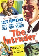 The Intruder - British DVD cover (xs thumbnail)