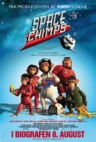 Space Chimps - Danish Movie Poster (xs thumbnail)