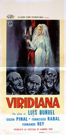 Viridiana - Italian Movie Poster (xs thumbnail)