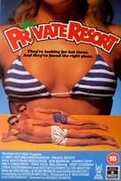 Private Resort - British Movie Cover (xs thumbnail)