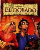 The Road to El Dorado - DVD cover (xs thumbnail)