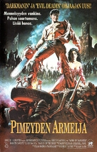 Army Of Darkness - Finnish Movie Cover (xs thumbnail)